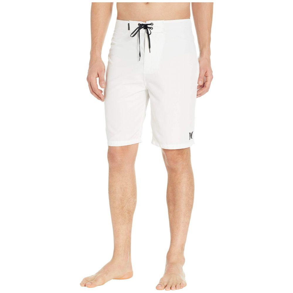 ハーレー Hurley メンズ 水着・ビーチウェア 海パン【One & Only 2.0 21' Boardshorts】White