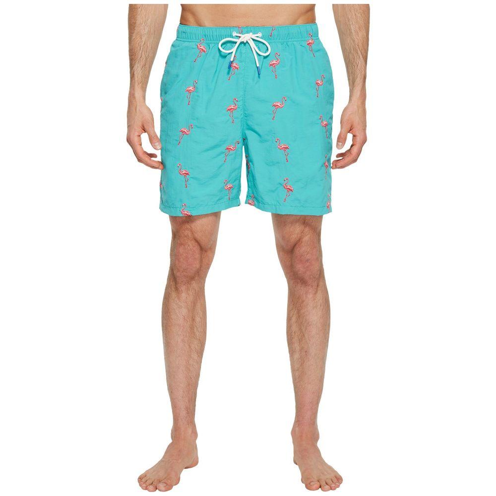 トミー バハマ Tommy Bahama メンズ 水着・ビーチウェア 海パン【Naples Flamingo Coast Swim Trunk】Castaway Green