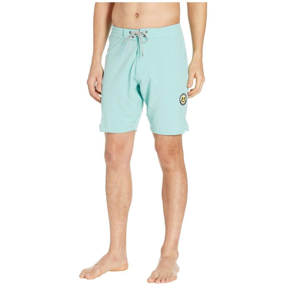 ヴィスラ VISSLA メンズ 水着・ビーチウェア 海パン【Solid Sets Washed Four-Way Stretch Boardshorts 18.5'】Light Jade