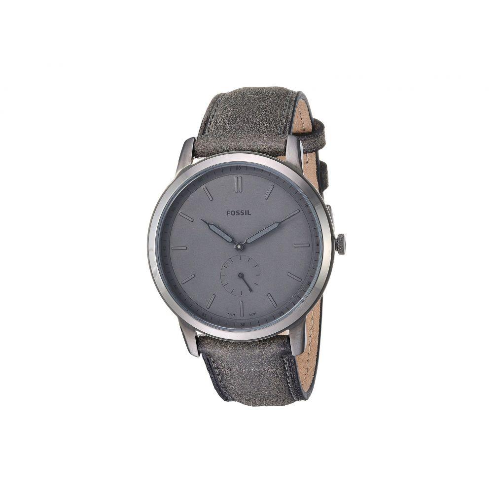 フォッシル Fossil メンズ 腕時計【The Minimalist - FS5445】Gray