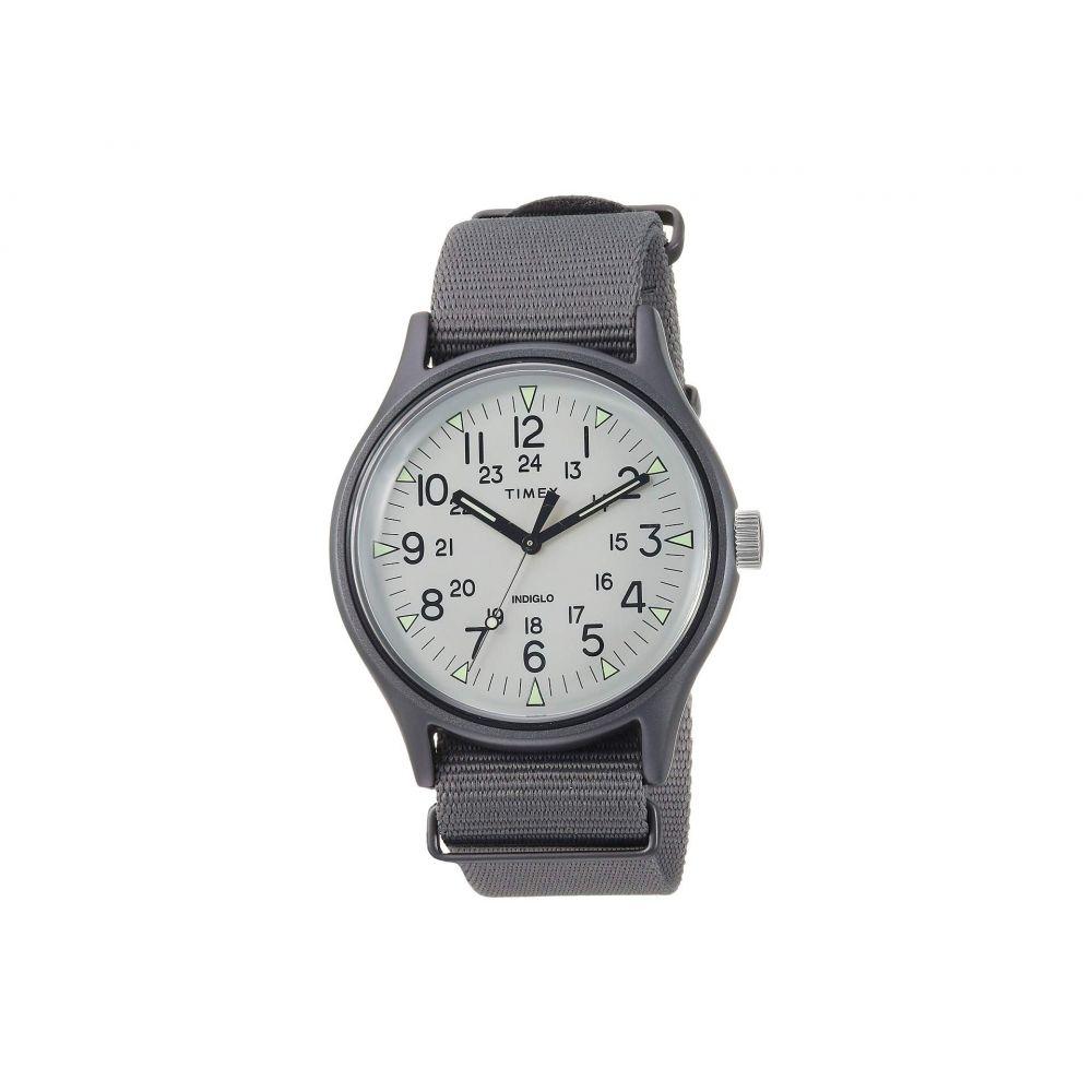 タイメックス Timex メンズ 腕時計【MK1 Aluminum 3-Hand】Silver/Grey