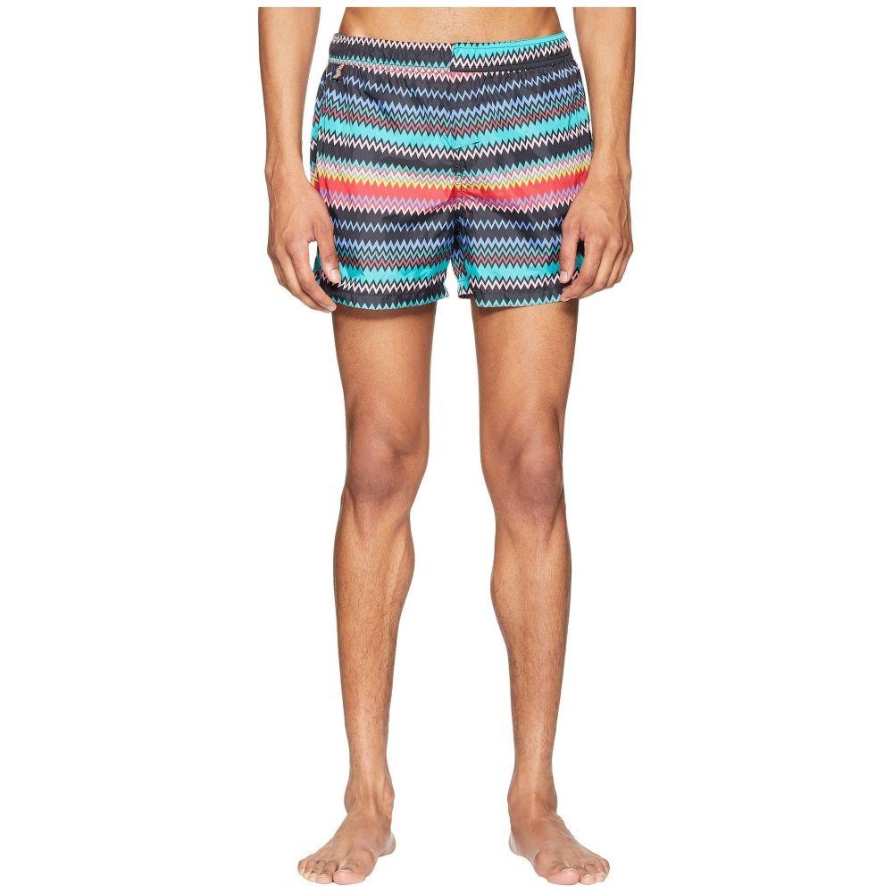 ミッソーニ Missoni Mare メンズ 水着・ビーチウェア 海パン【Mare Micro Zigzag Swim Shorts】Black