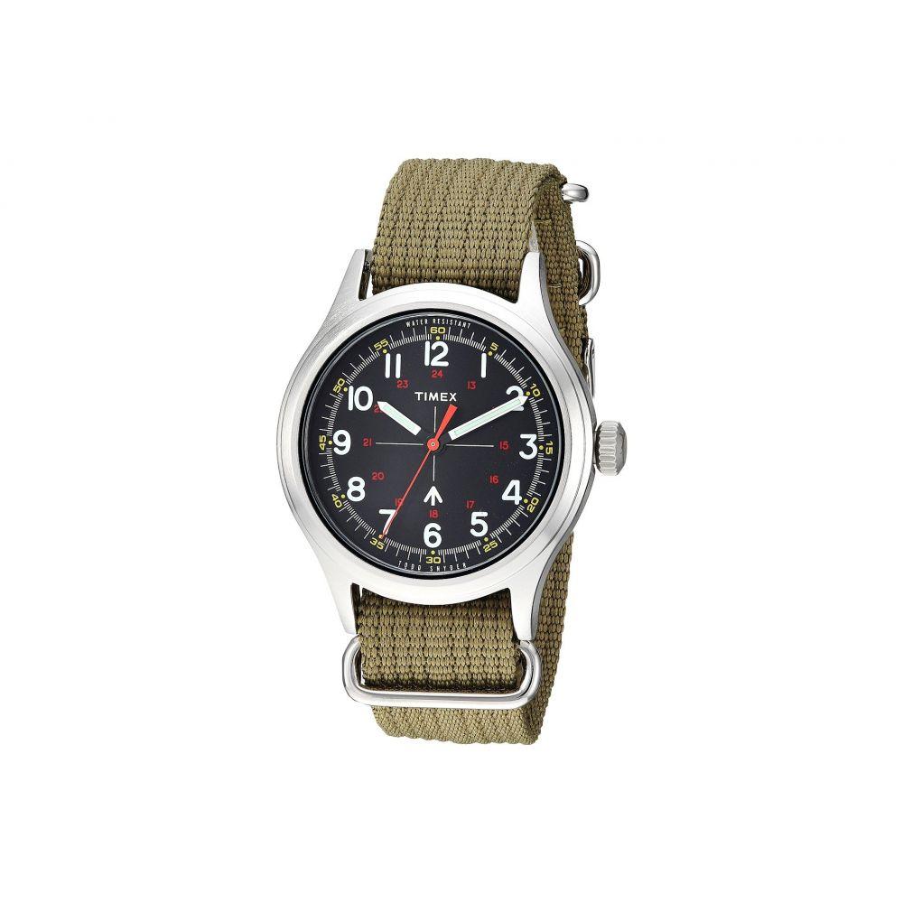 タイメックス Timex メンズ 腕時計【Todd Snyder Military 40mm】Olive/Black 2