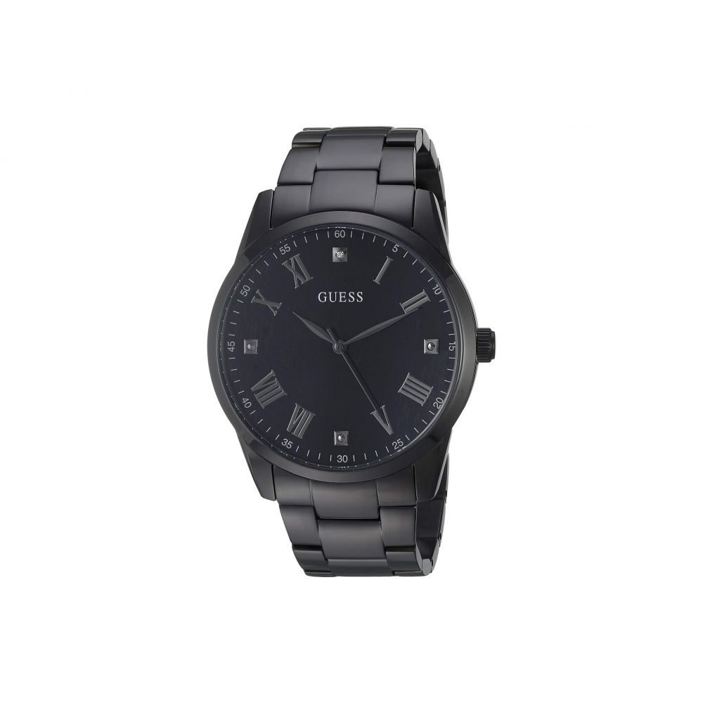 ゲス GUESS メンズ 腕時計【U1194G4】Black/Gunmetal