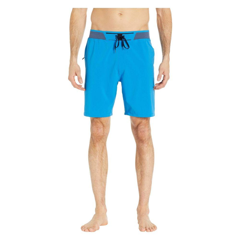 ハーレー Hurley メンズ 水着・ビーチウェア 海パン【Phantom Hyperweave 3.0 18' Boardshorts】Photo Blue