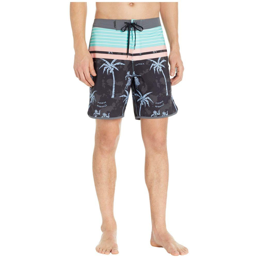 ハーレー Hurley メンズ 水着・ビーチウェア 海パン【Phantom Aloha Twist 18' Boardshorts】Black