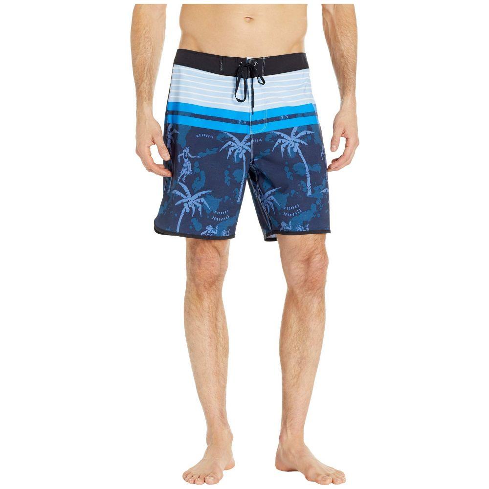 ハーレー Hurley メンズ 水着・ビーチウェア 海パン【Phantom Aloha Twist 18' Boardshorts】Obsidian