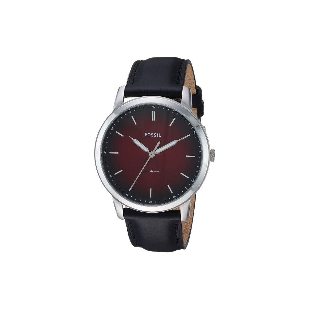 フォッシル Fossil メンズ 腕時計【The Minimalist 3H - FS5493】Black