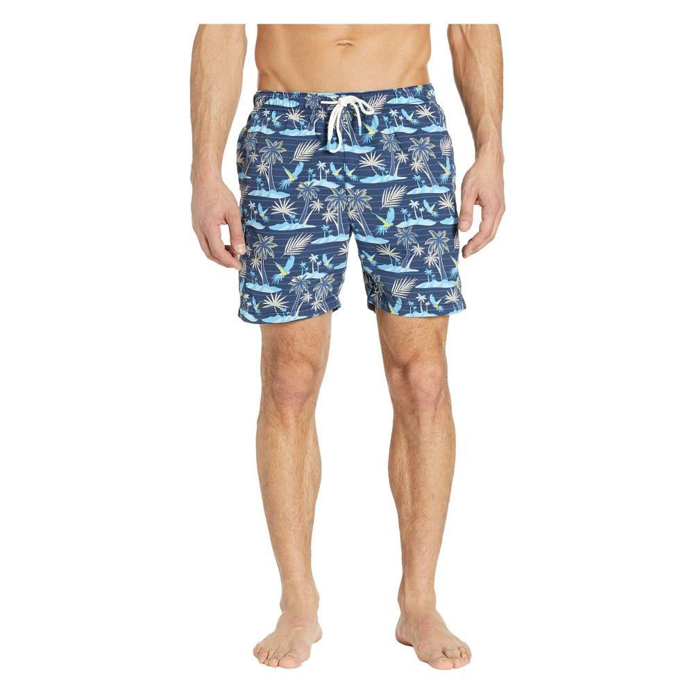 トミー バハマ Tommy Bahama メンズ 水着・ビーチウェア 海パン【Naples Isle Of Palms Swim Trunks】Ocean Deep