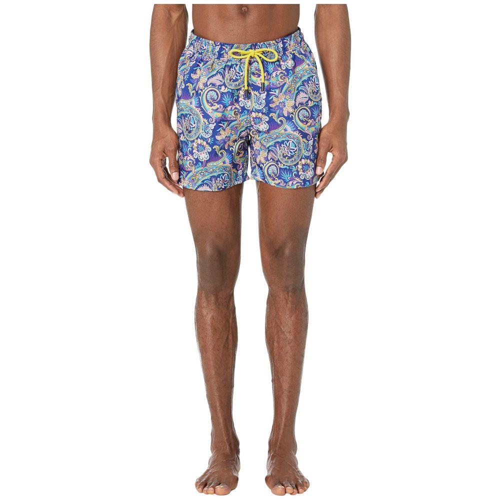 エトロ Etro メンズ 水着・ビーチウェア 海パン【Tropical Paisley Swimsuit】Blue