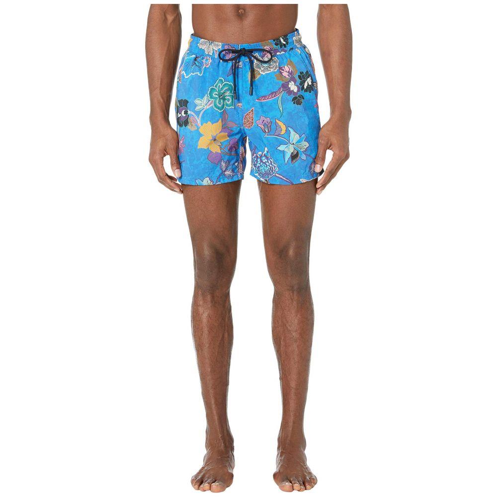 エトロ Etro メンズ 水着・ビーチウェア 海パン【Tropical Swimsuit】Blue
