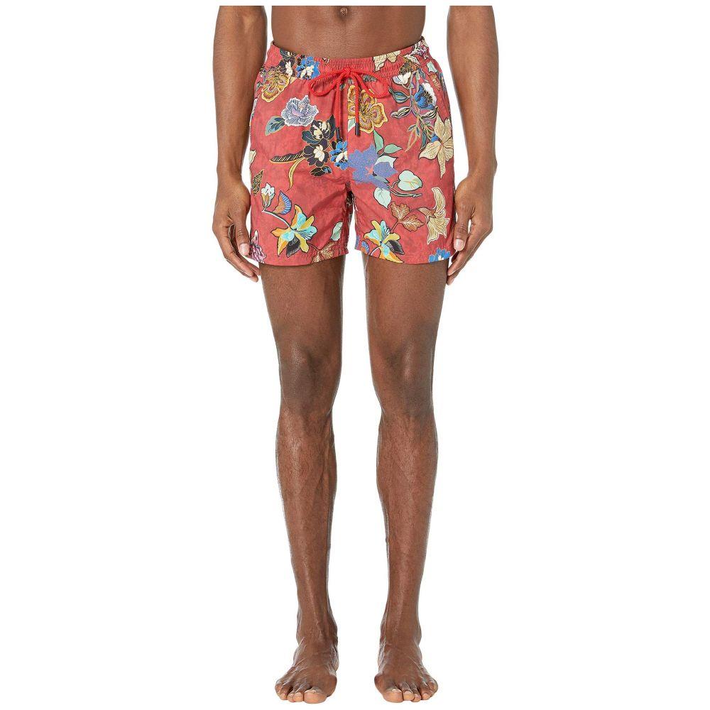 エトロ Etro メンズ 水着・ビーチウェア 海パン【Tropical Swimsuit】Red