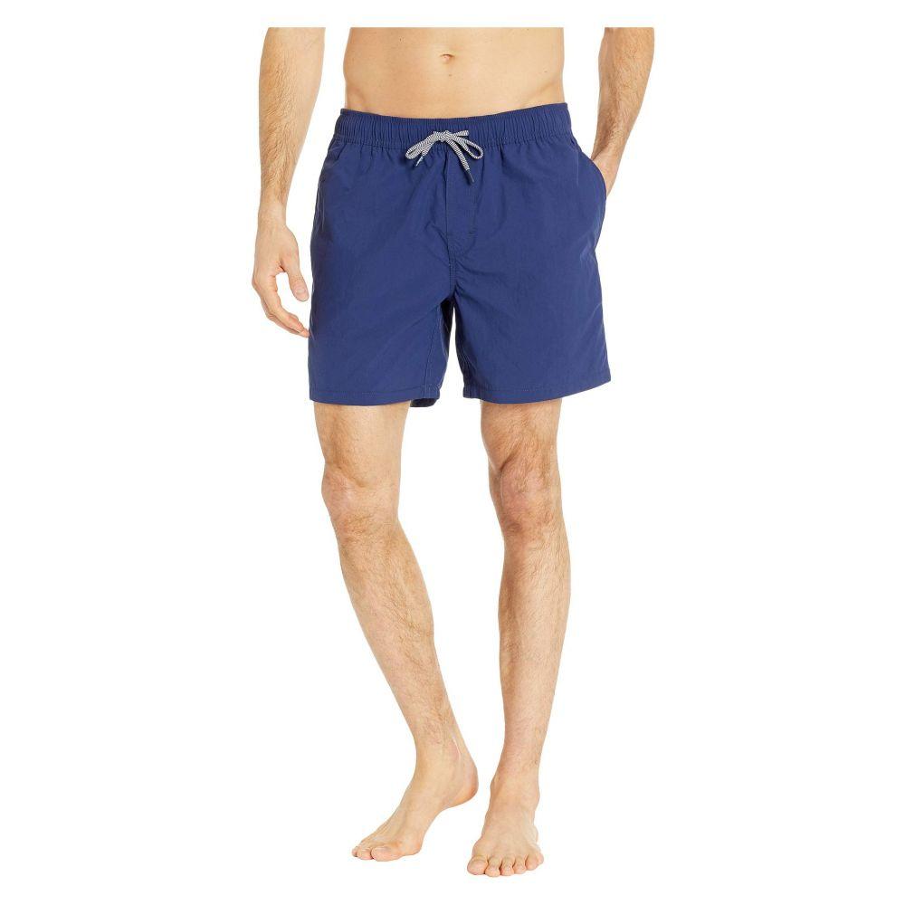 【Stretch Solid Swim Trunks】 Medieval Blue 水着・ビーチウェア レインスプーナー Reyn Spooner メンズ 海パン