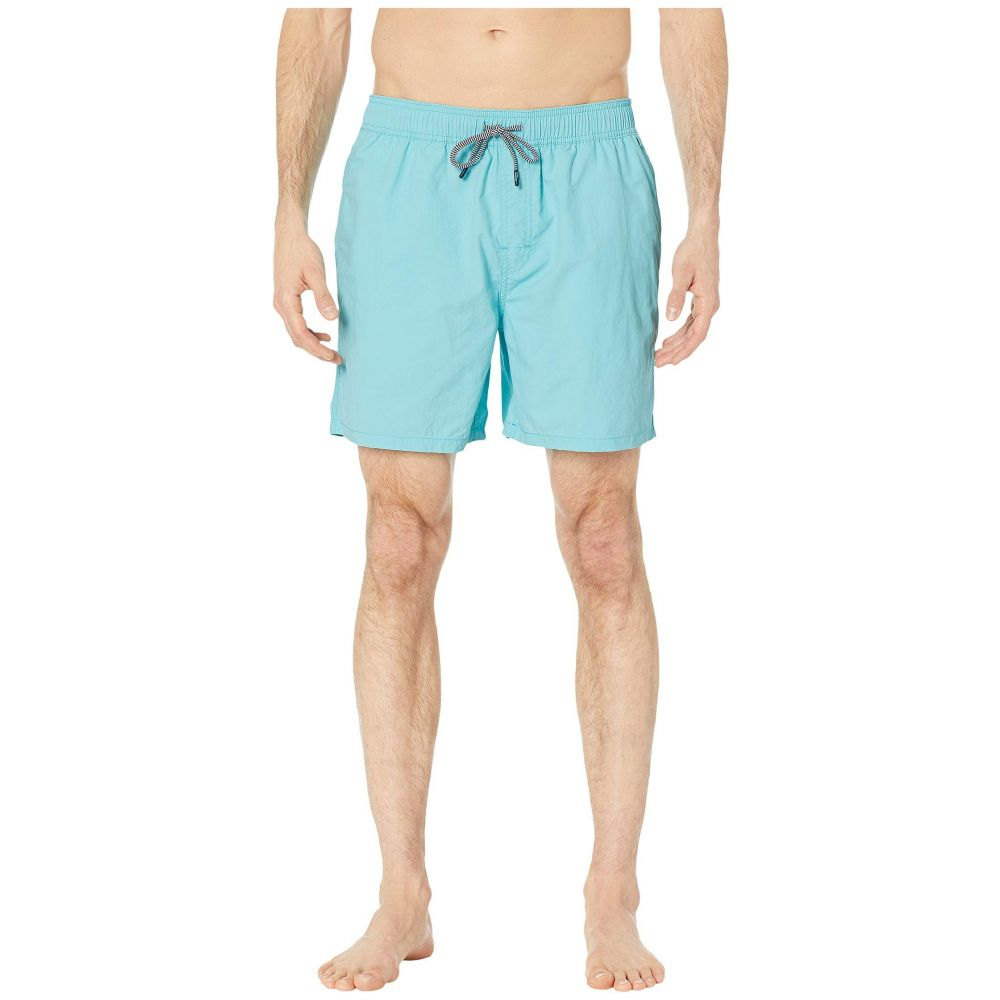 レインスプーナー Reyn Spooner メンズ 水着・ビーチウェア 海パン【Stretch Solid Swim Trunks】Blue Radiance