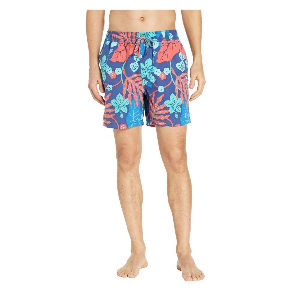 レインスプーナー Reyn Spooner メンズ 水着・ビーチウェア 海パン【San Clemente Swim Trunks】Daphne