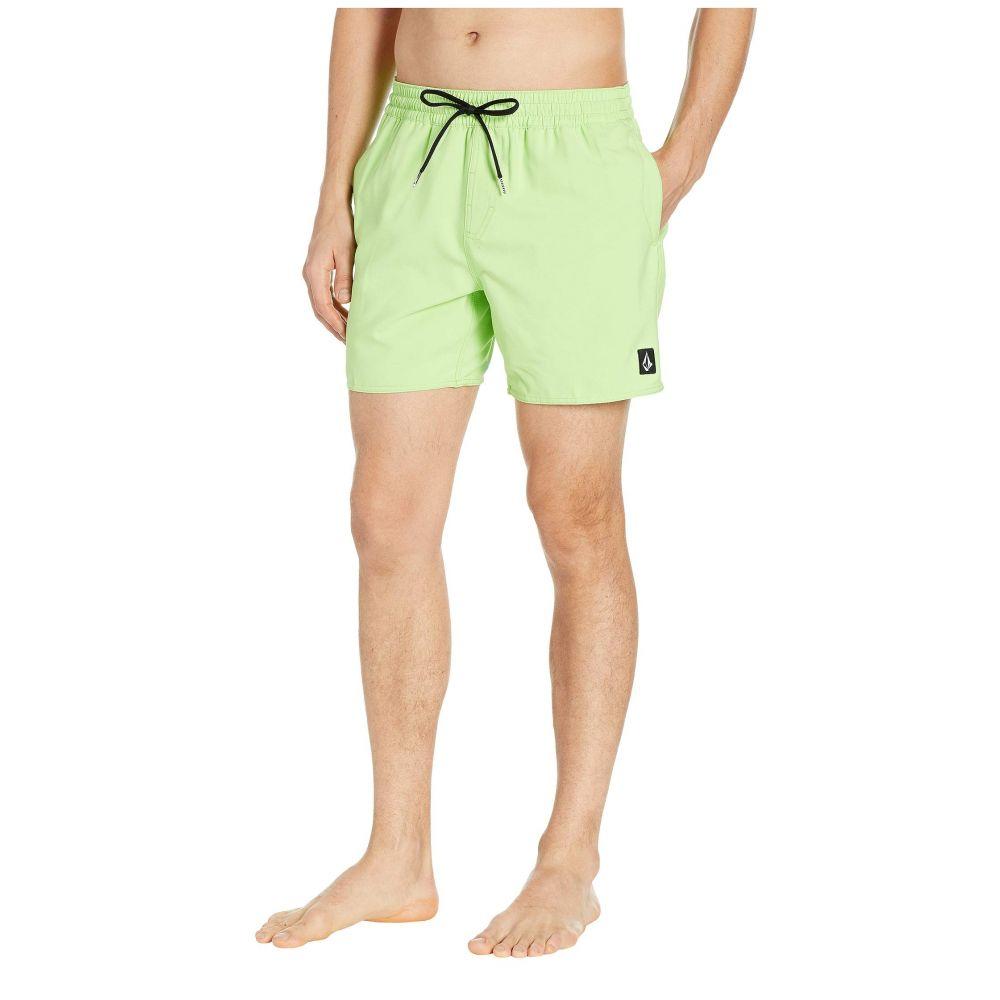 ボルコム Volcom メンズ 水着・ビーチウェア 海パン【16' Lido Trunks】Neon Green