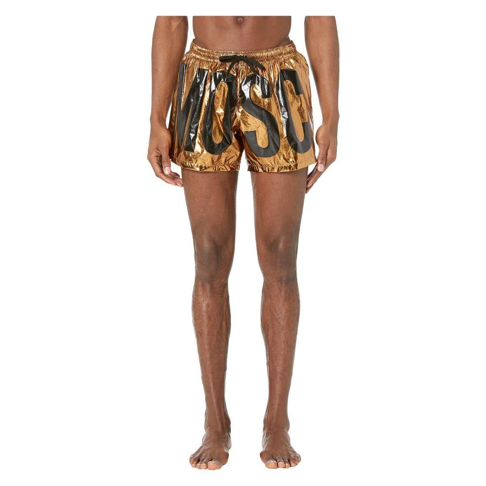 モスキーノ Moschino メンズ 水着・ビーチウェア 海パン【Lamina Swim Shorts】Bronze