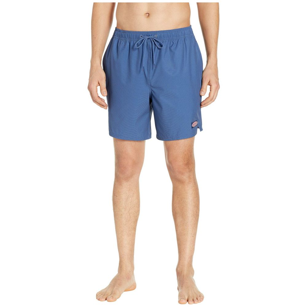 ヴィニヤードヴァインズ Vineyard Vines メンズ 水着・ビーチウェア 海パン【Fine Line Stripe Chappy Swim Shorts】Moonshine