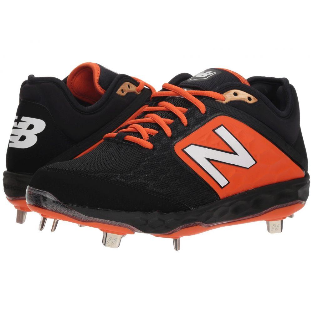 ニューバランス New Balance メンズ 野球 シューズ・靴【L3000v4 Baseball】Black/Orange