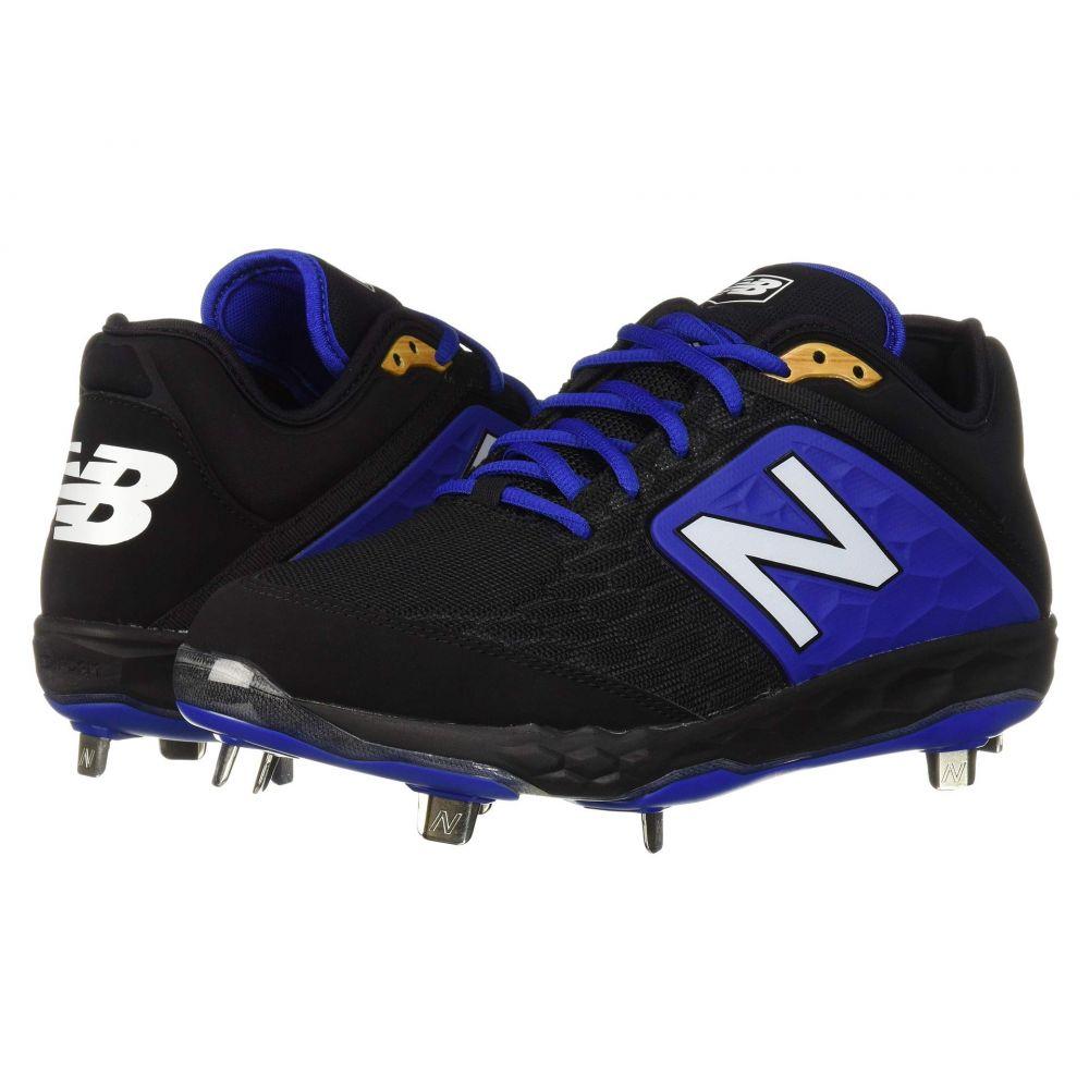 ニューバランス New Balance メンズ 野球 シューズ・靴【L3000v4 Baseball】Black/Blue
