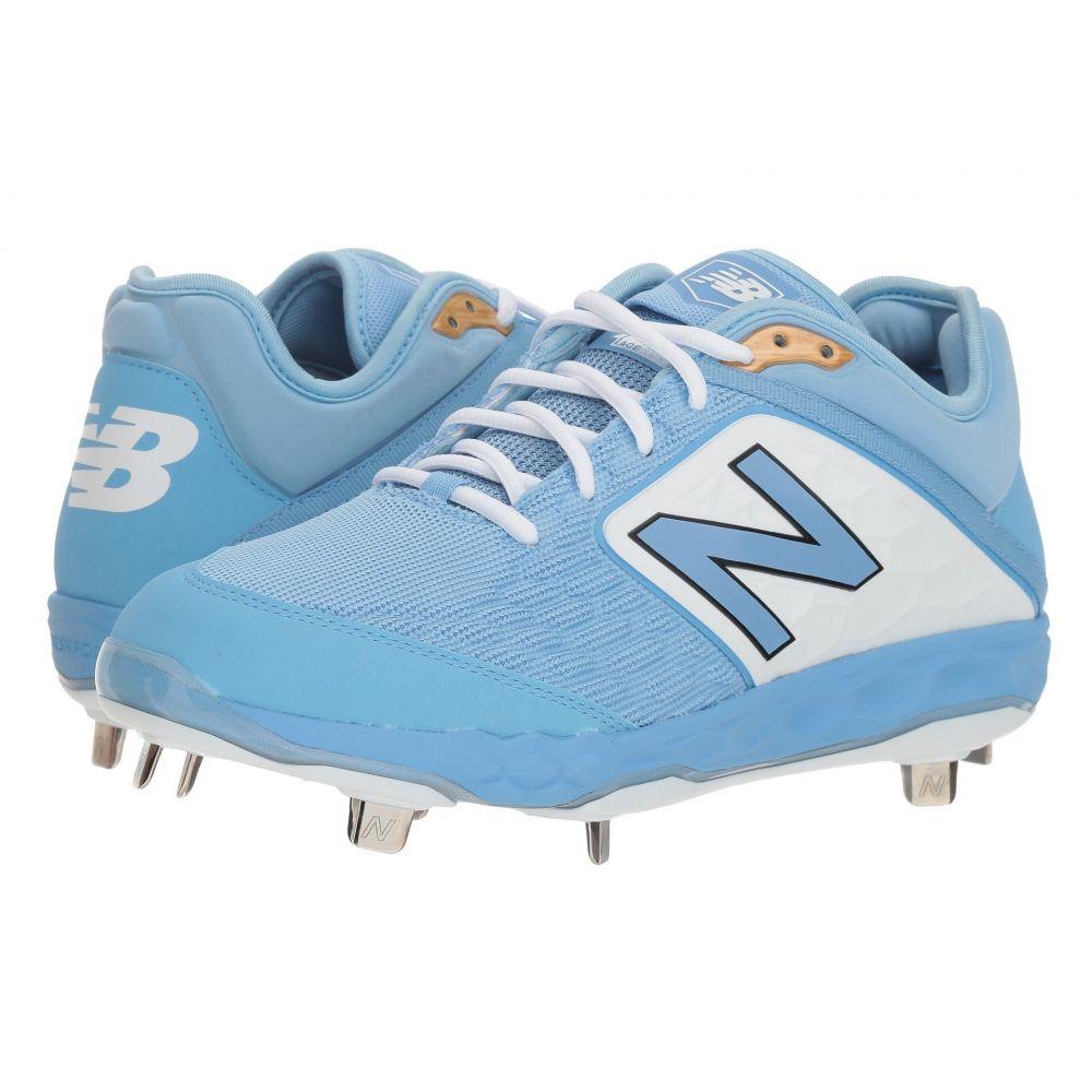 ニューバランス New Balance メンズ 野球 シューズ・靴【L3000v4 Baseball】Baby Blue/White