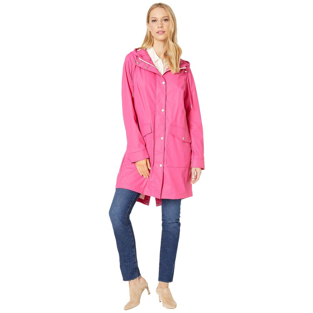 リーバイス Levi's レディース アウター レインコート【Rubberized PU Fishtail Rain Parka】Pink