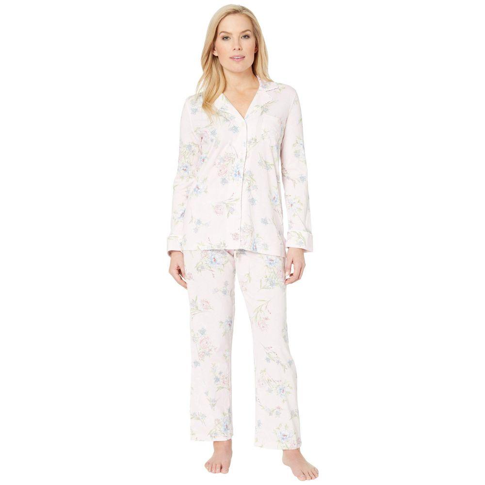 ラルフ ローレン LAUREN Ralph Lauren レディース インナー・下着 パジャマ・上下セット【Petite Knit Notch Collar Pajama Set】Pink Floral Print