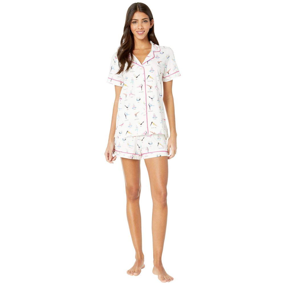ベッドヘッド BedHead レディース インナー・下着 パジャマ・上下セット【Short Sleeve Classic Short Pajama Set】Namaste