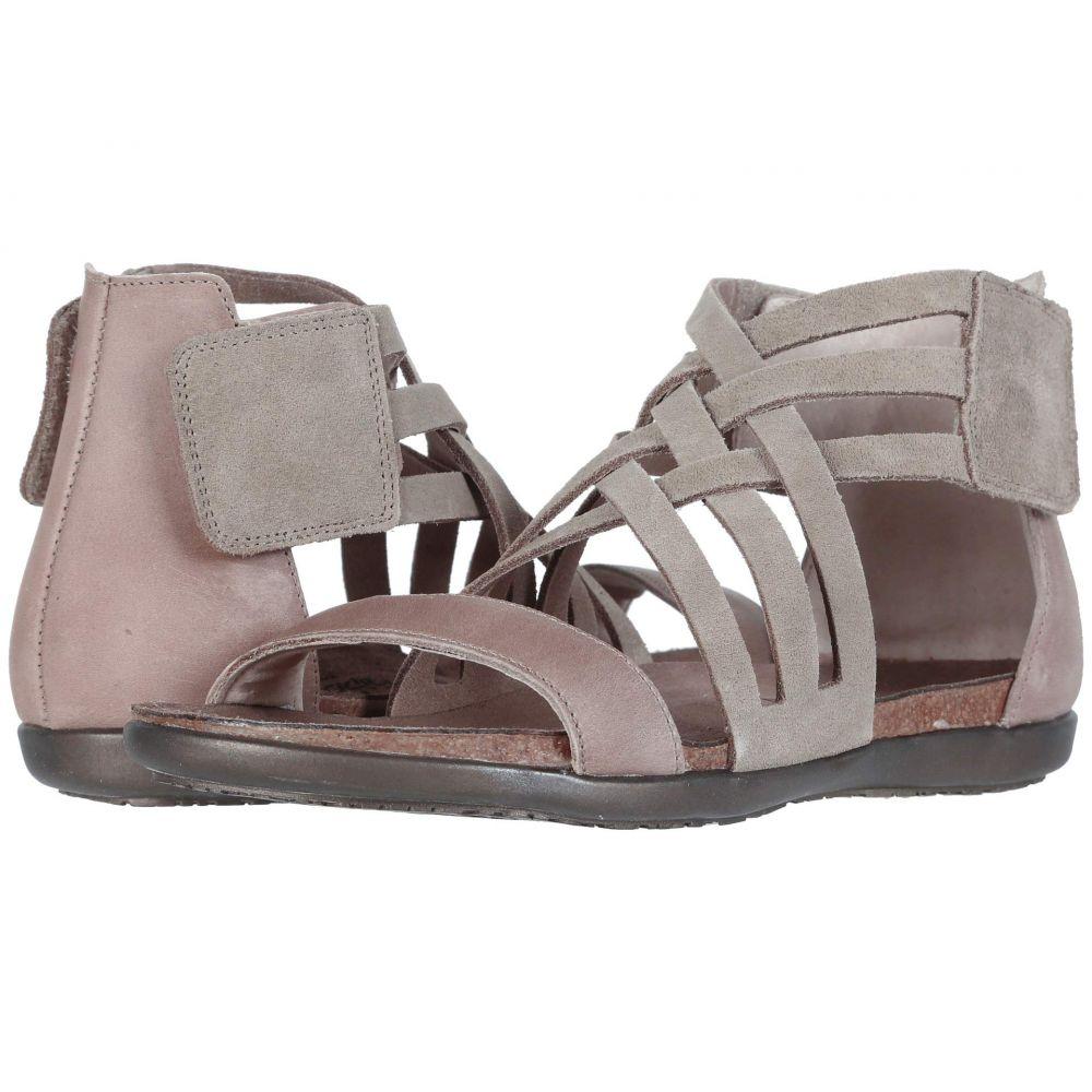 ナオト Naot レディース シューズ・靴 サンダル・ミュール【Marita】Sand Suede/Khaki Beige Leather