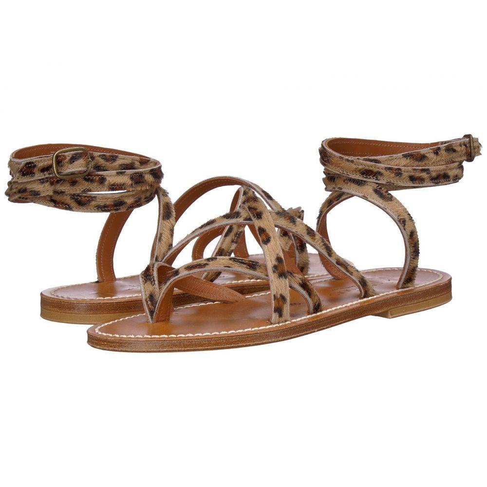 カー ジャック K.Jacques レディース シューズ・靴 サンダル・ミュール【Zenobie Velours Sandal】Horsey Leopard