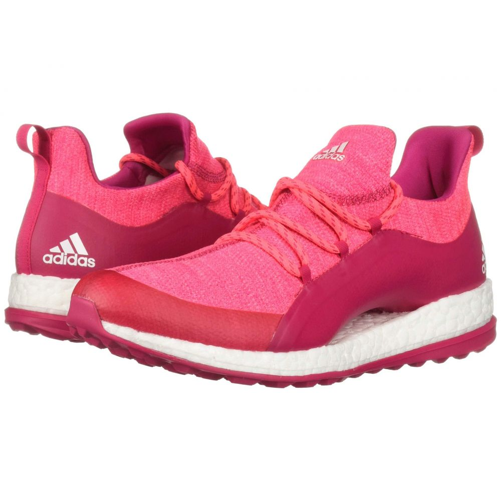 アディダス adidas Golf レディース ゴルフ シューズ・靴【Pureboost XG 2】Red Zest/Active Purple/Footwear White