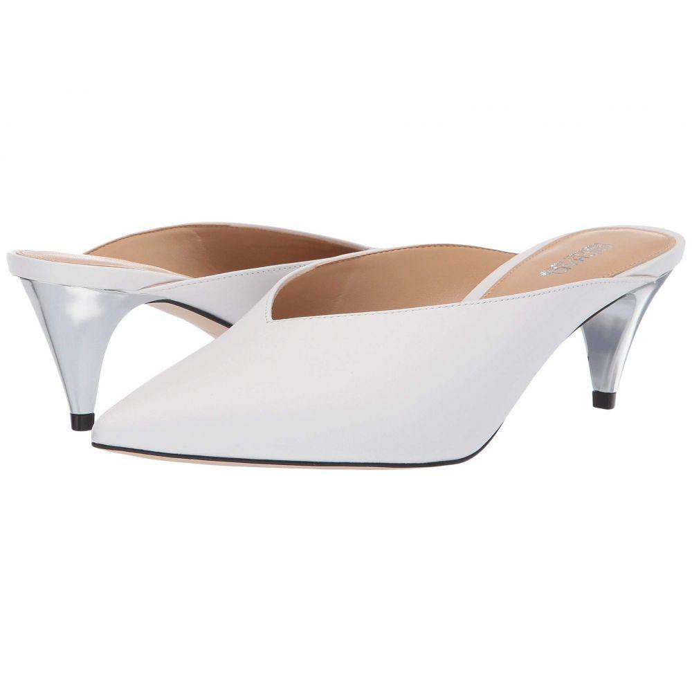 マイケル コース MICHAEL Michael Kors レディース シューズ・靴 サンダル・ミュール【Cambria Mule】Optic White Vachetta/Galvanized Heel