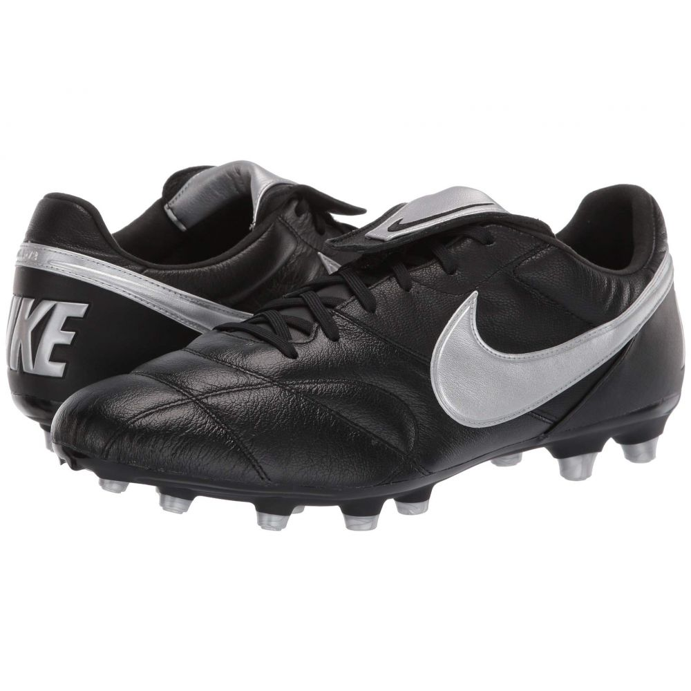 ナイキ Nike メンズ サッカー シューズ・靴【Premier II FG】Black/Metallic Silver/Black
