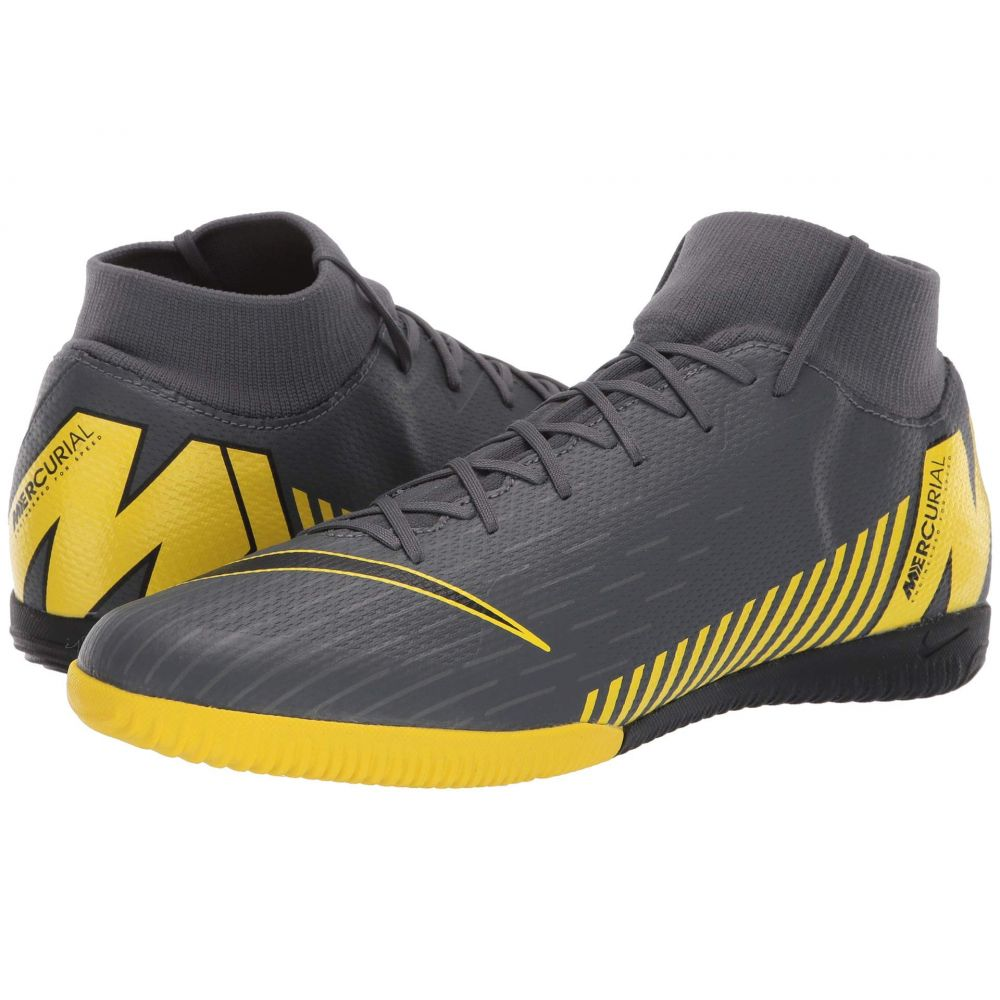 ナイキ Nike メンズ サッカー シューズ・靴【SuperflyX 6 Academy IC】Dark Grey/Black/Opti Yellow