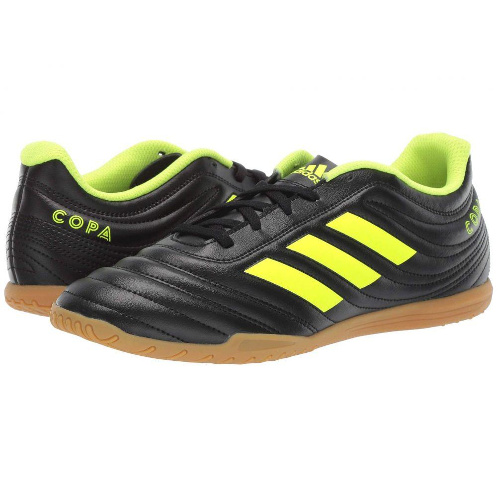 アディダス adidas メンズ サッカー シューズ・靴【Copa 19.4 IN】Core Black/Solar Yellow/Core Black