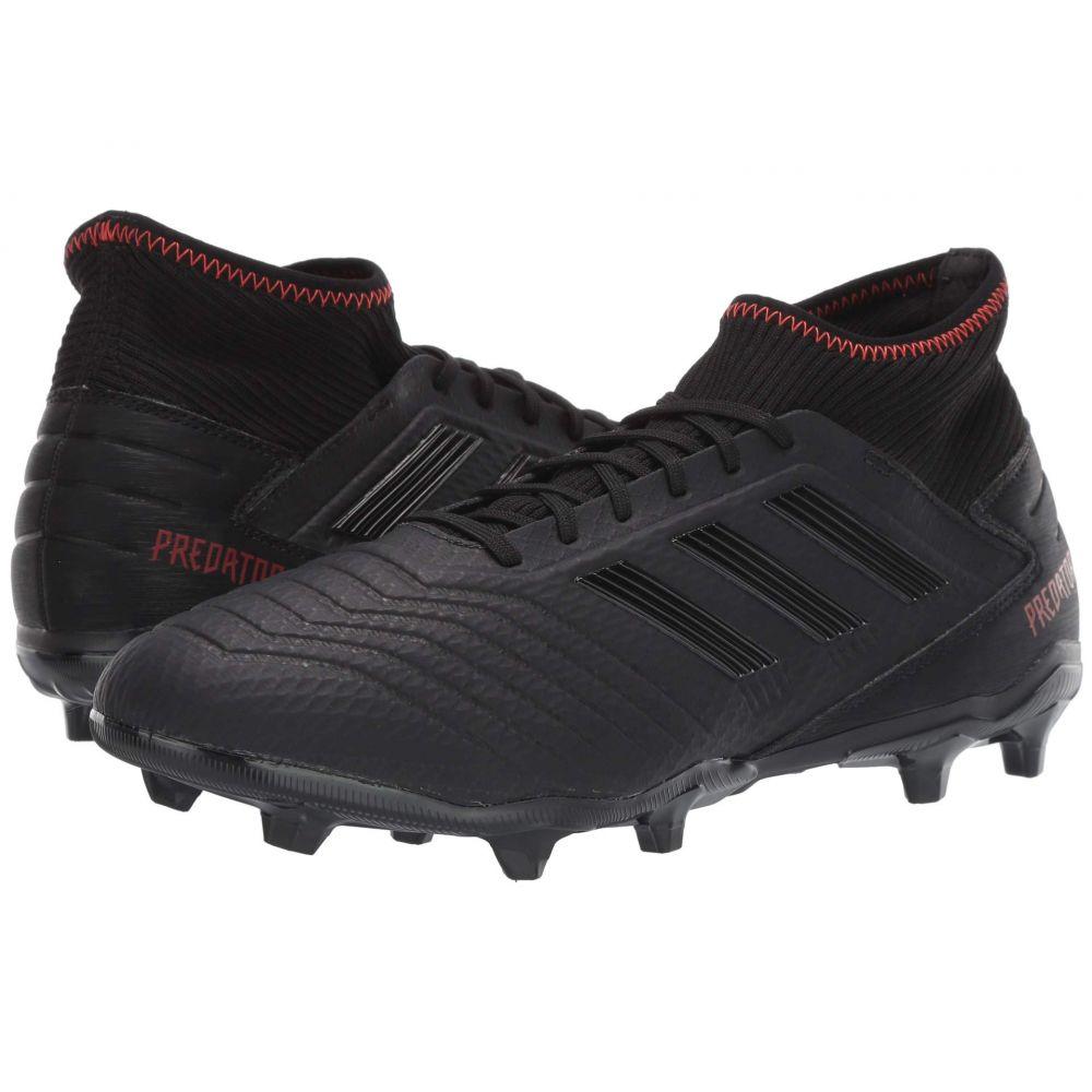 アディダス adidas メンズ サッカー シューズ・靴【Predator 19.3 FG】Core Black/Core Black/Active Red