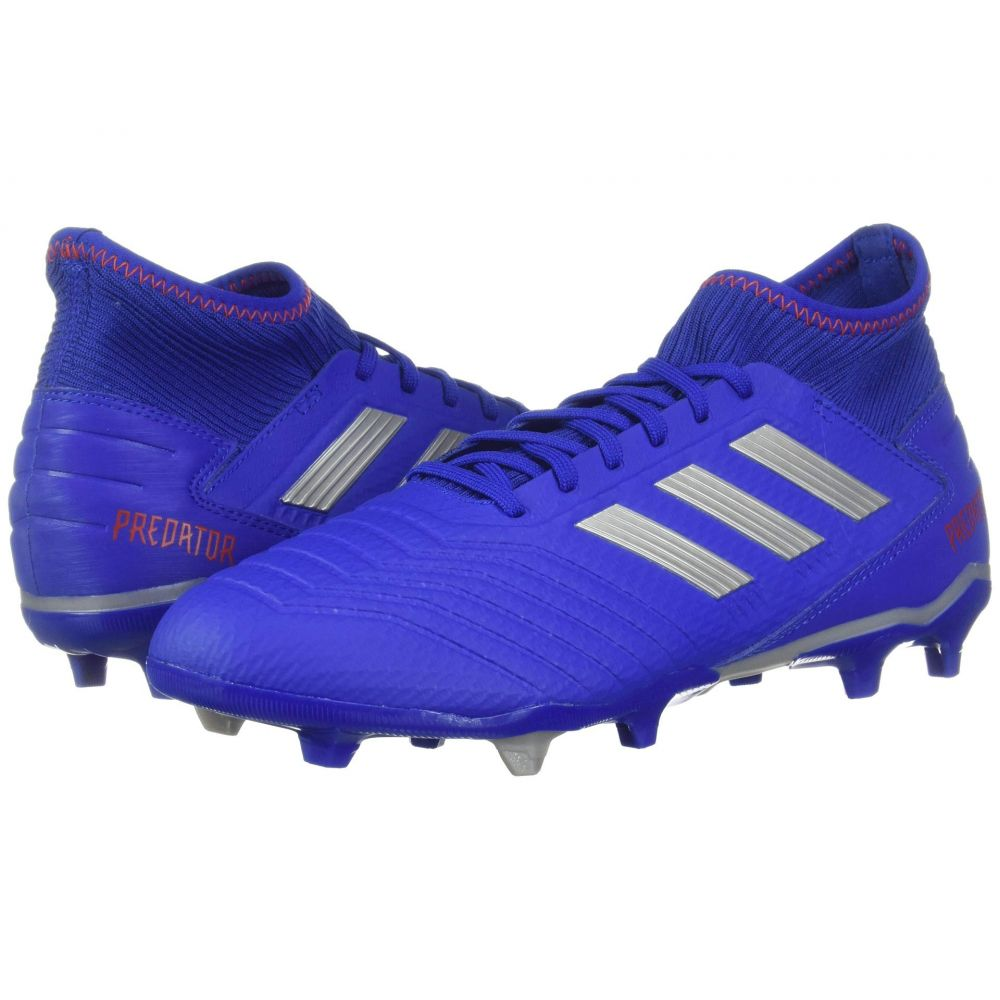 アディダス adidas メンズ サッカー シューズ・靴【Predator 19.3 FG】Bold Blue/Silver Metallic/Active Red