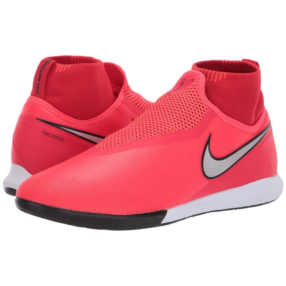 ナイキ Nike メンズ サッカー シューズ・靴【React Phantom VSN Pro DF IC】Bright Crimson/Metallic Silver