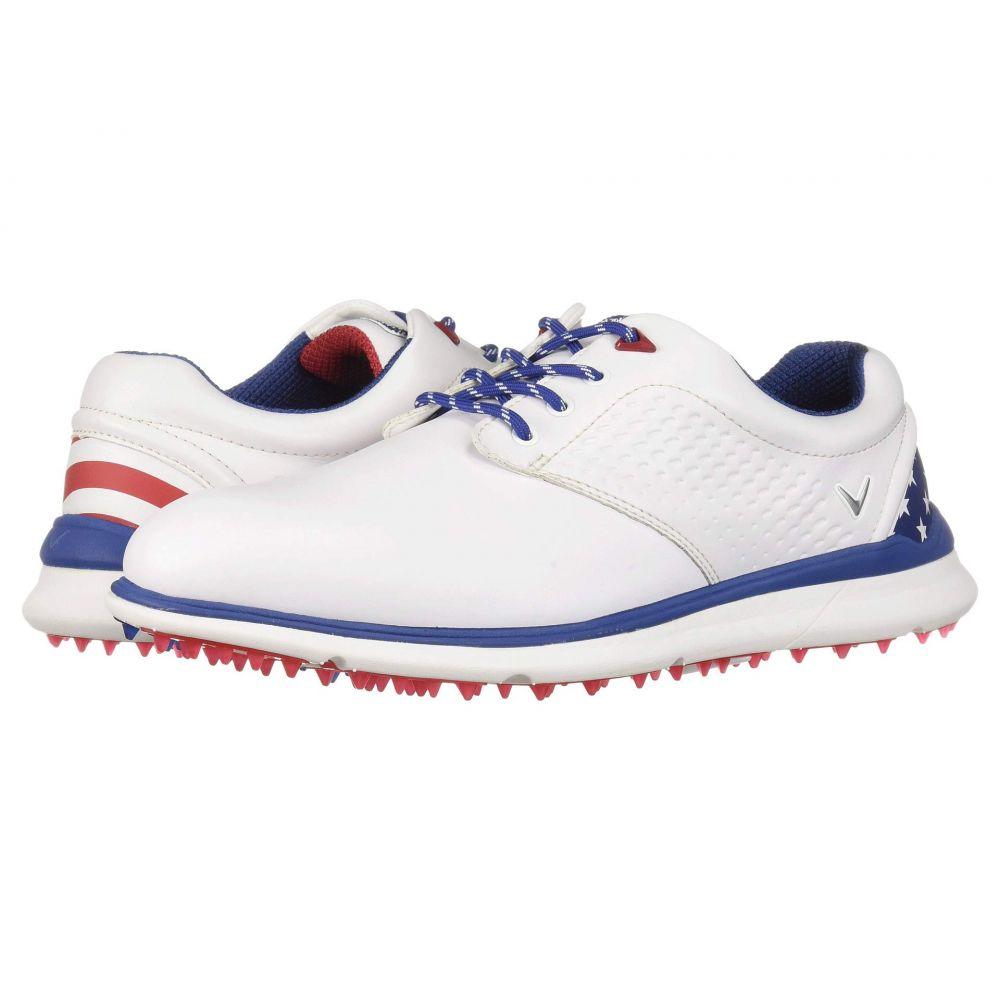 キャロウェイ Callaway メンズ ゴルフ シューズ・靴【Skyline】Blue/White/Red