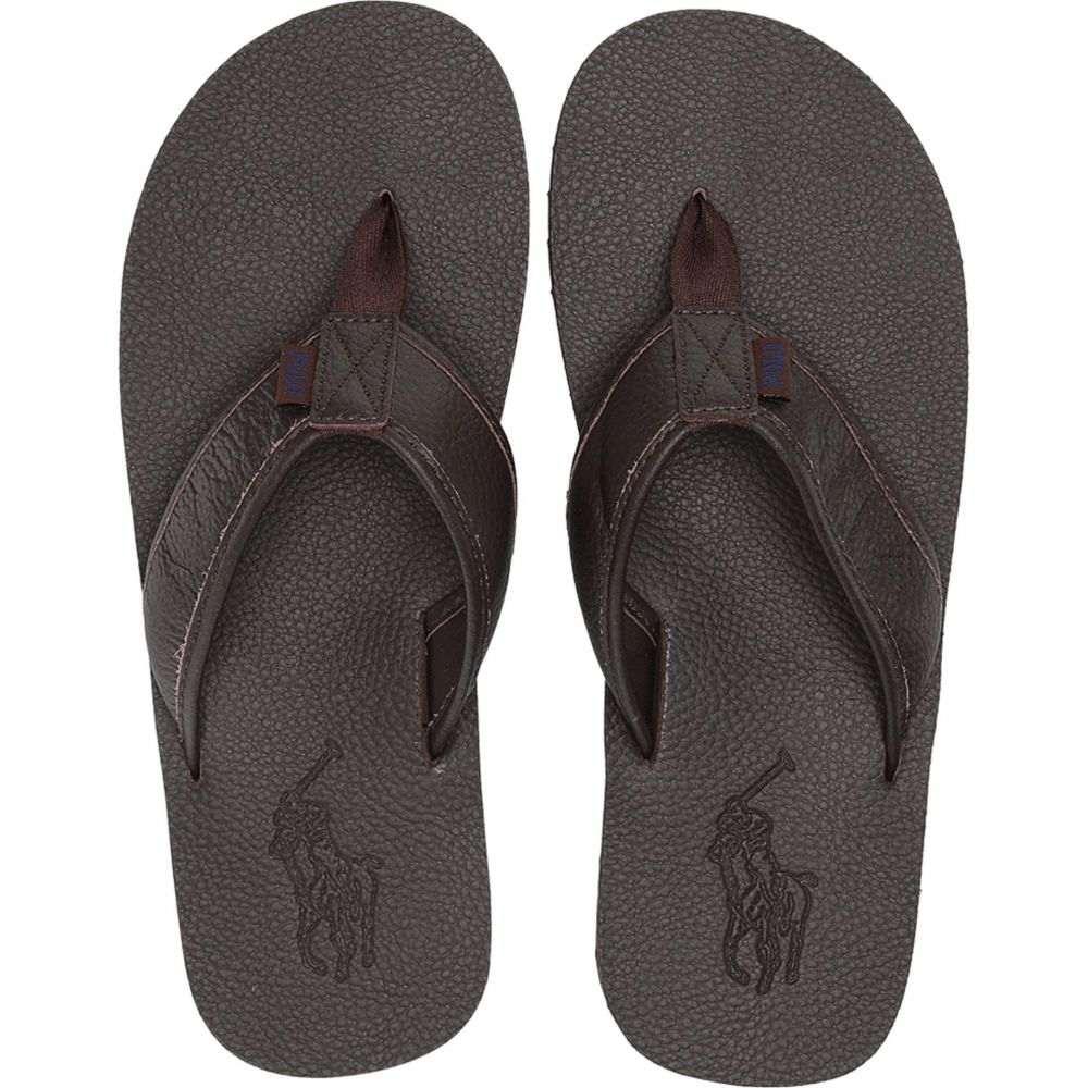 ラルフ ローレン Polo Ralph Lauren メンズ シューズ・靴 サンダル【Sullivan III】Dark Brown Tumbled Leather