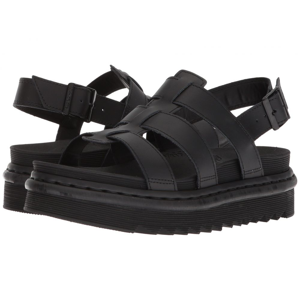 ドクターマーチン Dr. Martens レディース シューズ・靴 サンダル・ミュール【Yelena】Black Hydro Leather