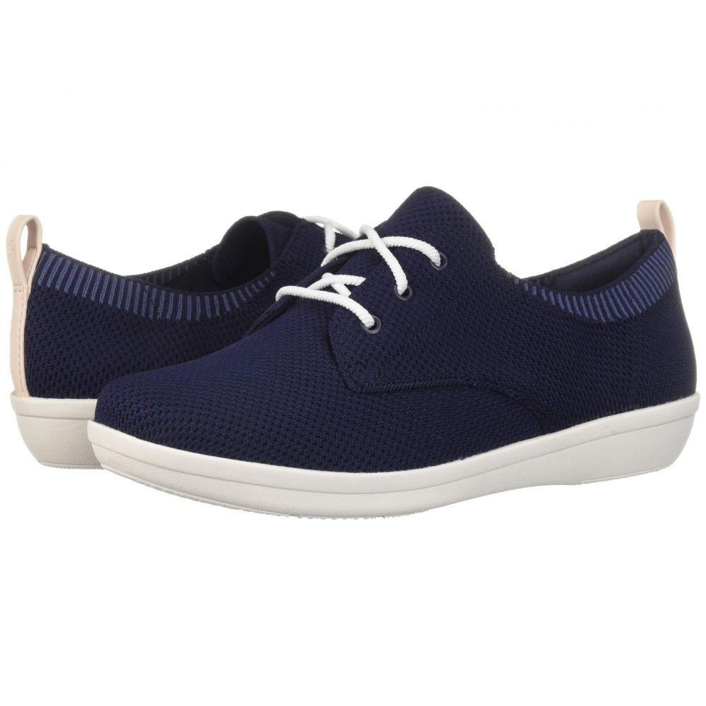 クラークス Clarks レディース シューズ・靴 スニーカー【Ayla Reece】Navy Knit