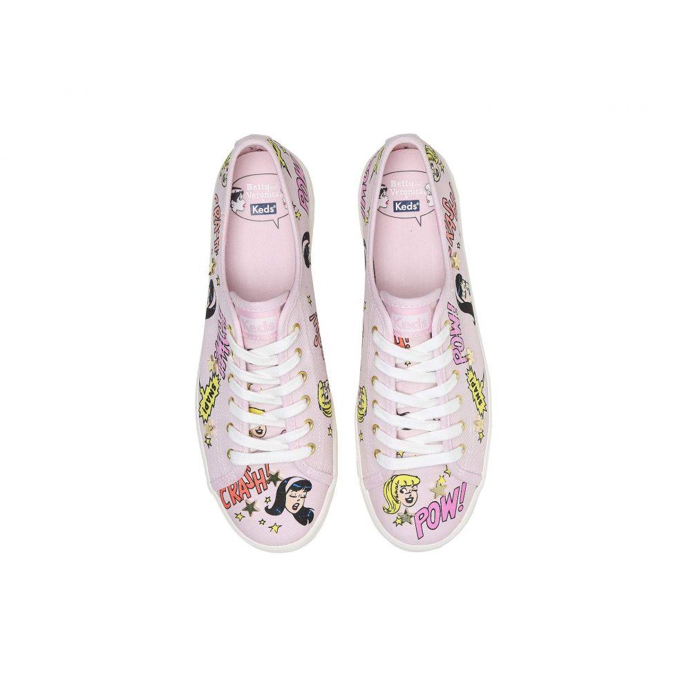 Print】Pink Veronica Pop スニーカー【x Keds Kickstart シューズ・靴 Betty レディース and Canvas ケッズ