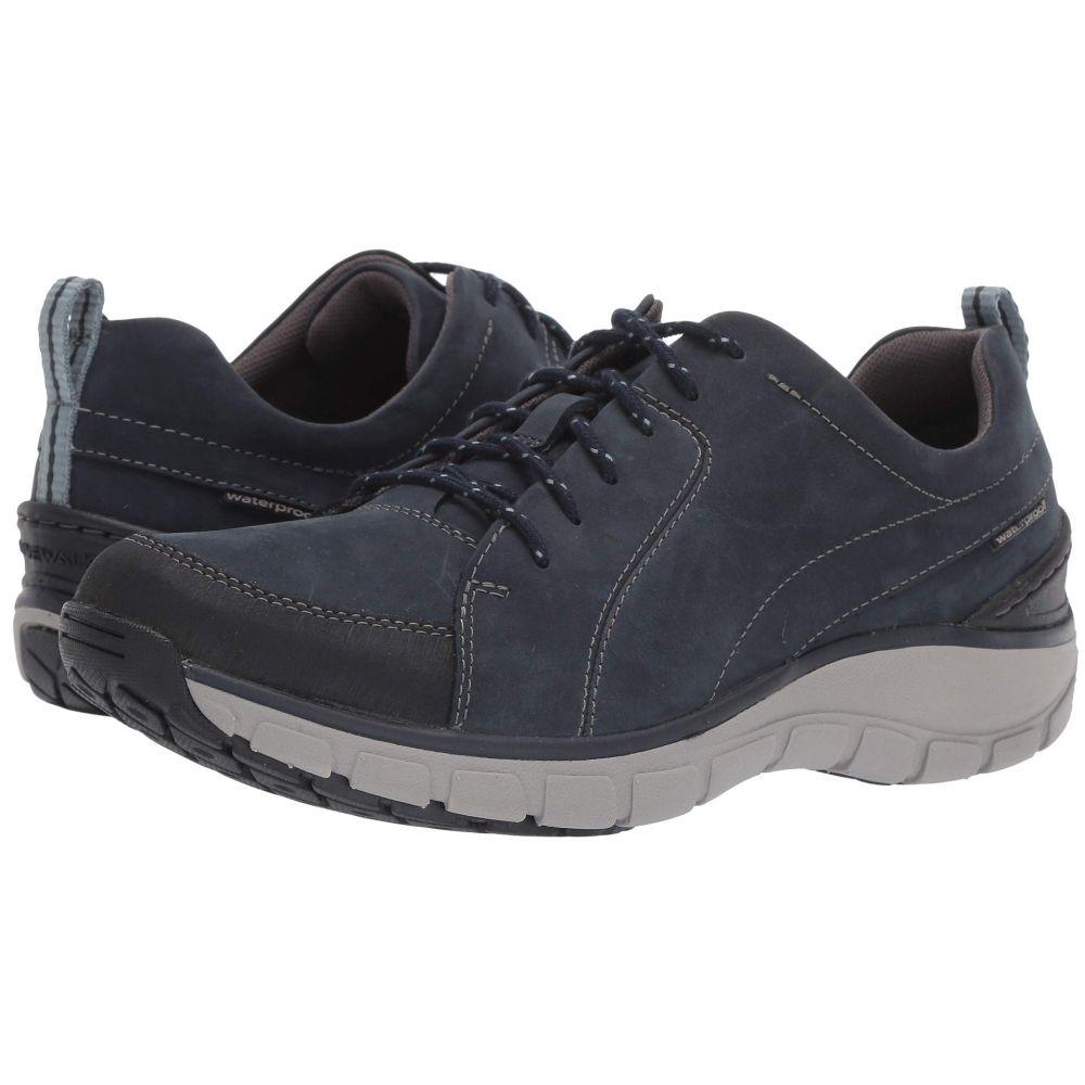 クラークス Clarks レディース シューズ・靴 スニーカー【Wave Go】Navy Nubuck/Leather Combi