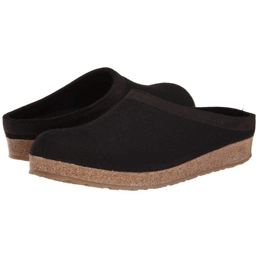 ハフリンガー Haflinger レディース シューズ・靴【GZL Leather Trim Grizzly】Black