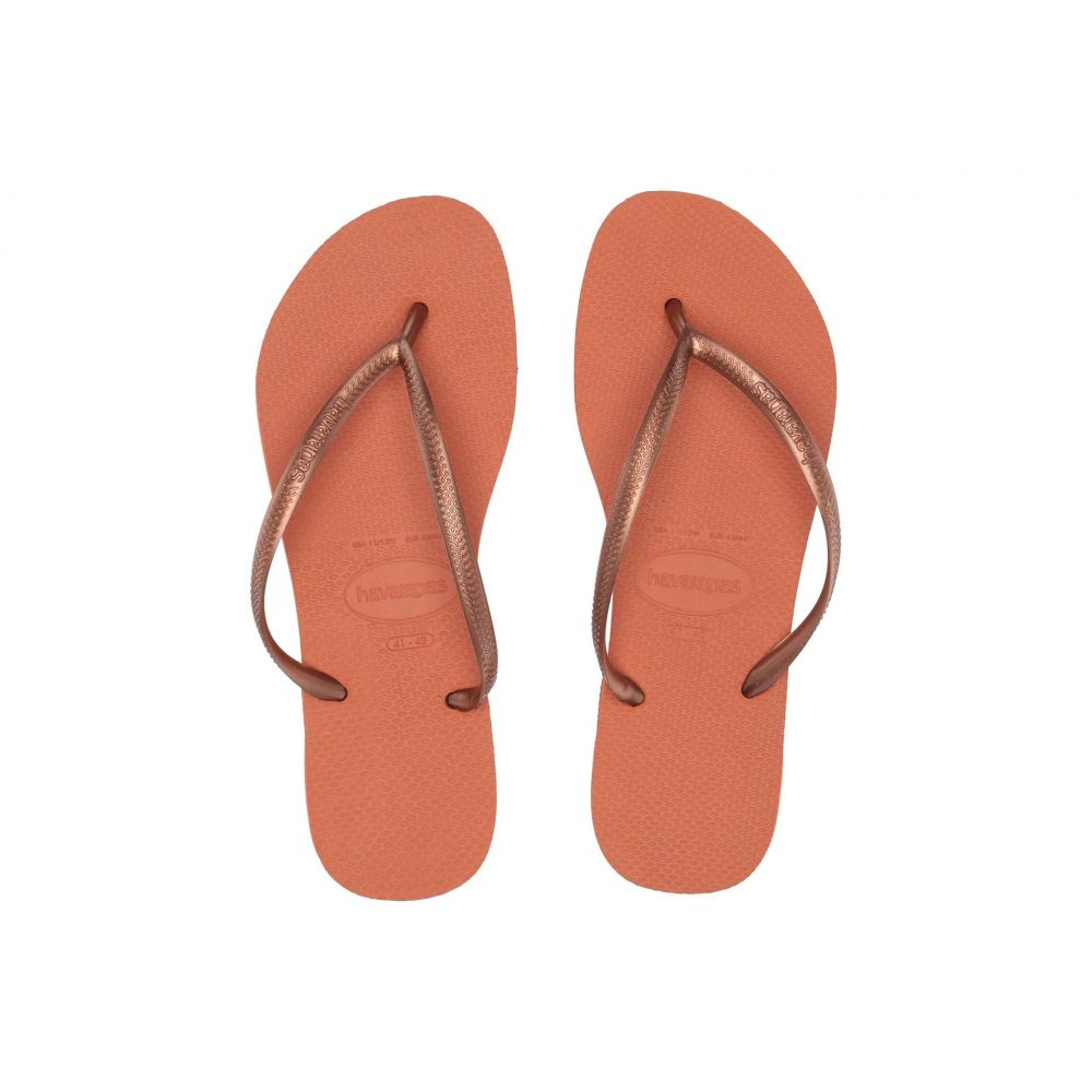 ハワイアナス Havaianas レディース シューズ・靴 ビーチサンダル【Slim Flip Flops】Burnt Orange