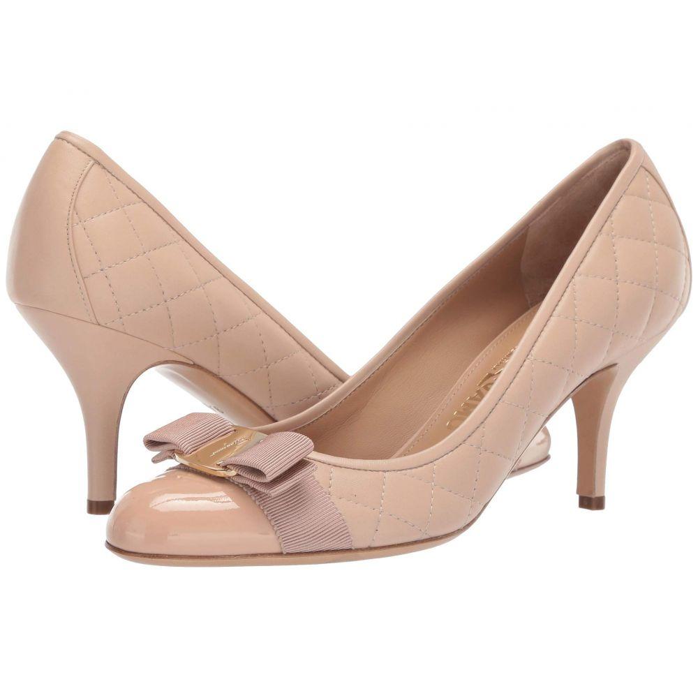 サルヴァトーレ フェラガモ Salvatore Ferragamo レディース シューズ・靴 ヒール【Carla 70 Q】New Bisque Patent