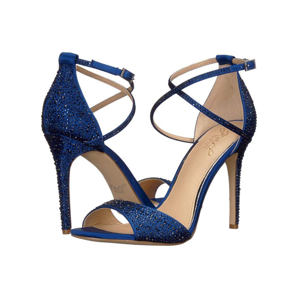 バッジェリー ミシュカ Jewel Badgley Mischka レディース シューズ・靴 ヒール【Dillon】Blue