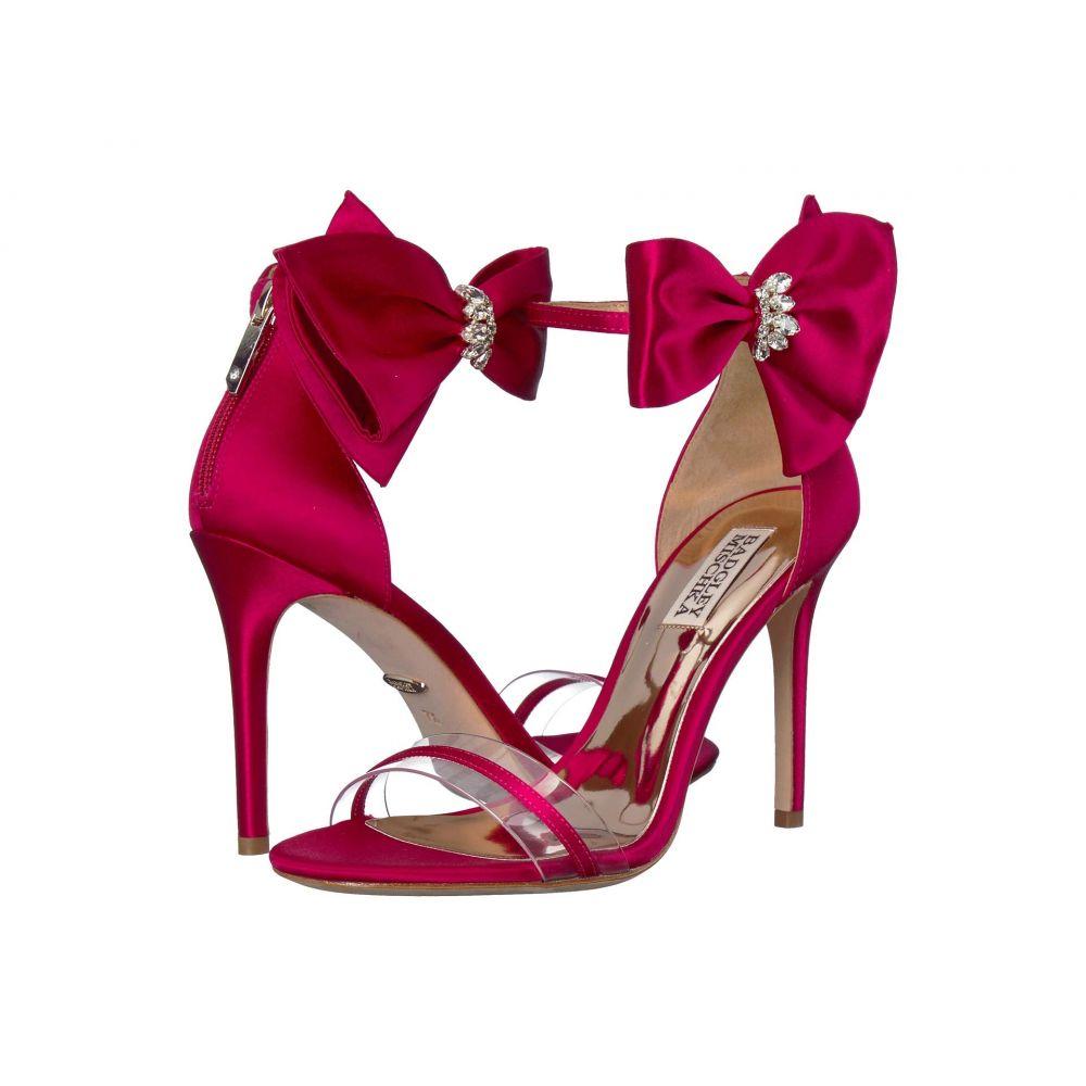 バッジェリー ミシュカ Badgley Mischka レディース シューズ・靴 ヒール【Fran】African Red Satin
