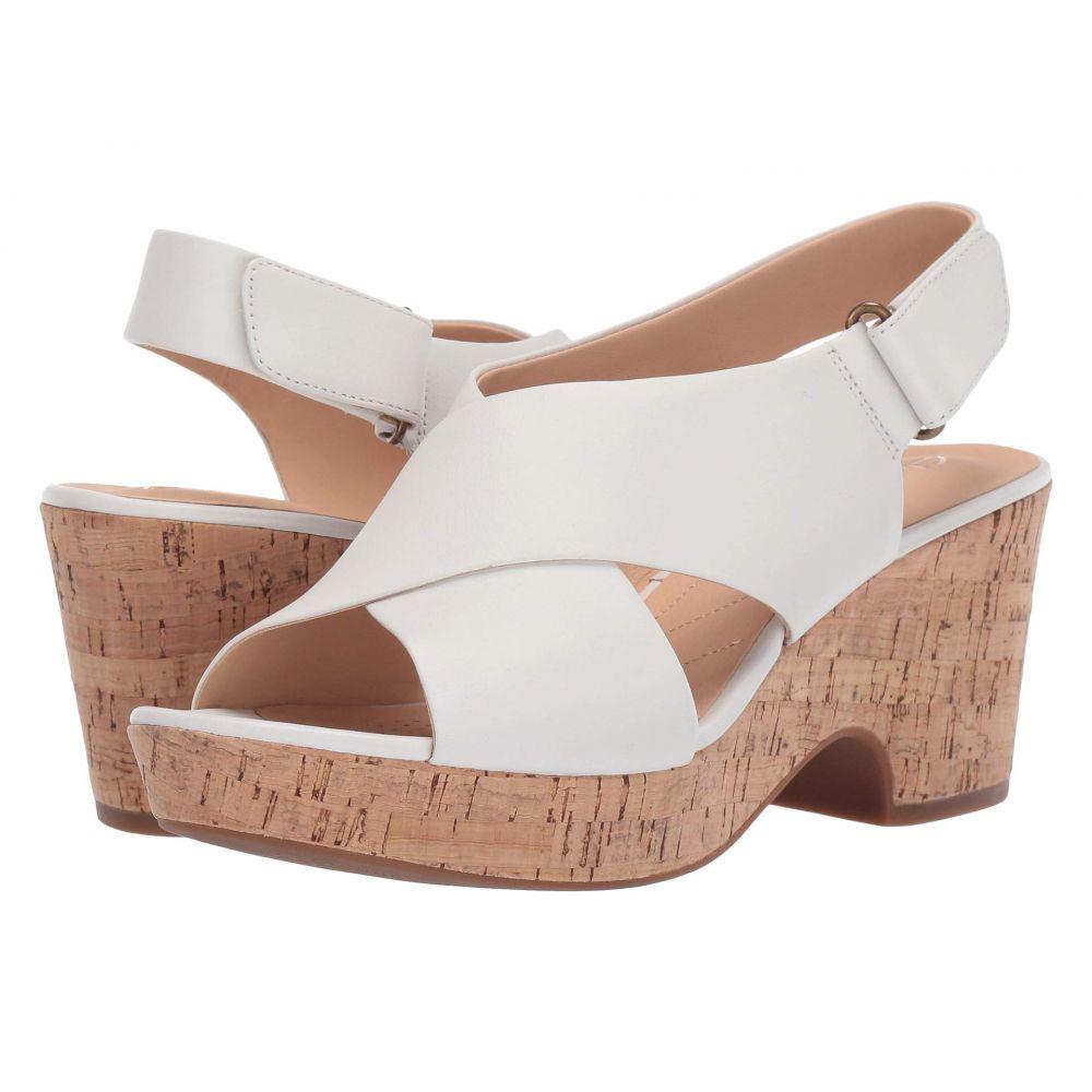 クラークス Clarks レディース シューズ・靴 ヒール【Maritsa Lara】White Leather